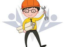 مطلوب مهندس معماري او مدني