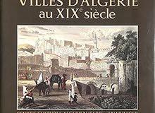 Villes d'Algérie au XIX ème siècle (français/arabe)