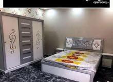 غرف نوم جديدة جاهز وتفصيل باسعار مناسبه