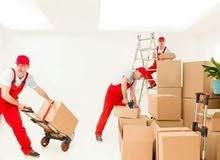 لنقل العفش وتخزين الاثاث المنزلي والماكتبي والبضائع