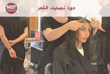 دورة تصفيف الشعر والتسريحات والبروتين
