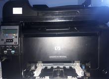 طابعة hp laserjet 100 color mfp m175nw