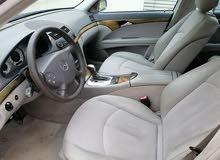 مرسيدس E240 بحالة ممتازة