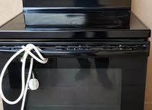 GE Electric Ceramic Stove-Oven Range 30 Inch, 4 Radiant elements 1 Warming Zone, Stainless