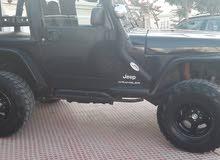 Black Jeep Wrangler 2003 for sale