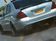 Used condition Mercedes Benz E55 AMG 2003 with 1 - 9,999 km mileage