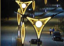 poles lights