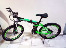 24 inch foldable mountain Bycycle