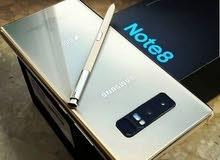جهاز نوت 8 (Note 8 ) جديد كامل ملحقات جديد كلش ما بي .. باب اول اصلي من الشركة