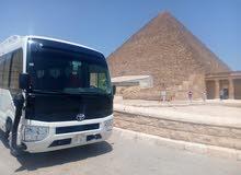 كوستر موديل 2019 للايجار اليومي والرحلات بأقل الأسعار في مصر