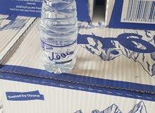 يوجد لدينا مجموعة انواع للماء متوفر بكميات