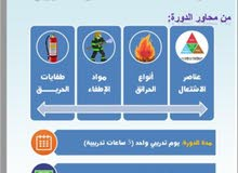 دورة مراقب السلامة من الحريق
