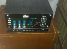 مكبر صوت  MAX  راديو مع سماعه واحده الصوت داهيه