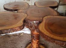 اثات من الخشب الطبيعي