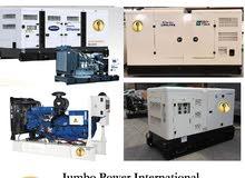 Generators for Rent 10KVA to 1000KVA