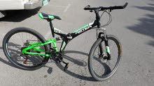26 inch foldable mountain bike