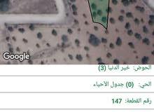 قطعة ارض مميزه للبيع مفروزه اربع حدايد بقوشان مستقل من اراضي تقبل