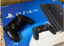 Playstation 4 video game console up for sale. For hardcore gamers