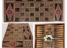 طاولة زهر فخمة صناعة يدوية دمشقية