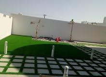 العشب الصناعى السوبر كثافة عالية فقط 1.800 ريال للمتر