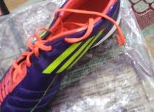 حذاء كرة قدم ماركة اديداس اصلي 100%