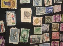 طوابع نادرة قديمة اجنبية وعربية للبيع