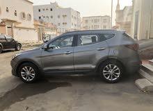 Grey Hyundai Santa Fe 2016 for sale