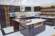 مطبخ خشب موديل حديث