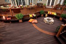 Flooring  Composite Wood Decking  Garden Area WPC Flooring  Wood Decking