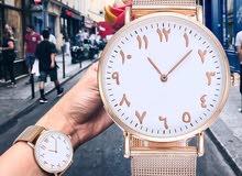 ساعة جديدة نسائية بأرقام عربية 2019