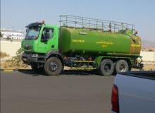 رينولت صهريج مياه اخضر 2011 بحالة جيدة للبيع