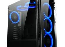 ريموت كنترول + Gaming Case Mid Tower RGB