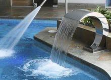 انشاء وتصميم وتنفيذ حمامات السباحه