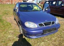 Daewoo Lanos 2002 For sale - Purple color