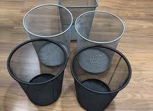 5 office thrash bins for sale
