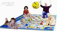لعبة السلم والثعبان مساحة كبيرة