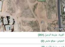 قطعتين ارض للبيع الموقع مزرعة الرحيل عايش