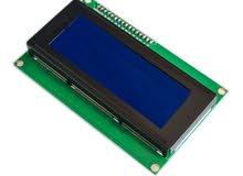 LCD 2004 with Blue Backlight and I2C Interface - شاشة ال سي دي 2004 مع واجهة I2C  وخلفية زرقاء