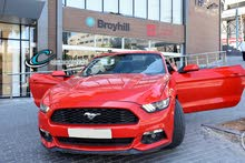 For rent a Ford Mustang 2017