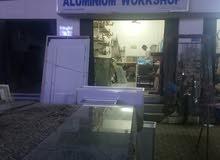 بيع ورشة المنيوم في المعبيلة الصناعية