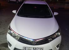 Toyota corolla SE  2014