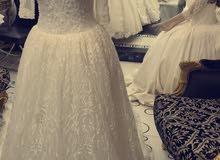 فستان عرس(للبيع)