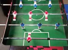 طاولة بلياردو و لعبة كرة قدم