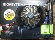 كارت الشاشه Nvidia  Geforce Gt740 2Gigabyte