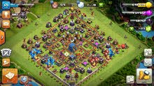 للبيع قرية clash of clans لفل 12