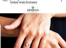 JSB BIJOUX  rainbow zircon ring