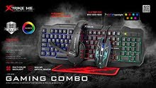 Xstrike CM-406 4 in 1 Gaming Combo Kit Keyboard, Mouse, Headset, Mouse (NEW)