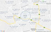 Al Naseem Circle neighborhood Irbid city - 175 sqm apartment for rent