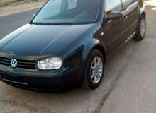 Turquoise Volkswagen Golf 2003 for sale