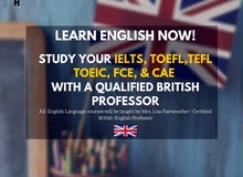 IELTS & Spoken English Classes W (British Teacher) - BH